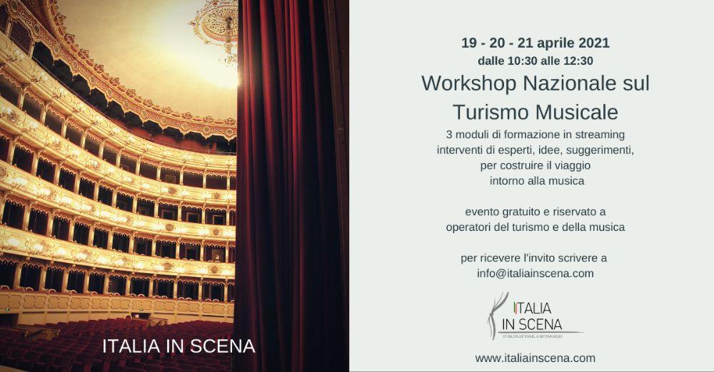 1° Workshop Nazionale sul Turismo Musicale