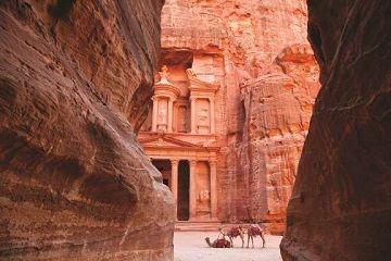 Fuga a Petra