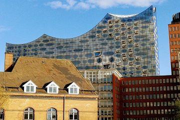 L'Elbphilharmonie di Amburgo